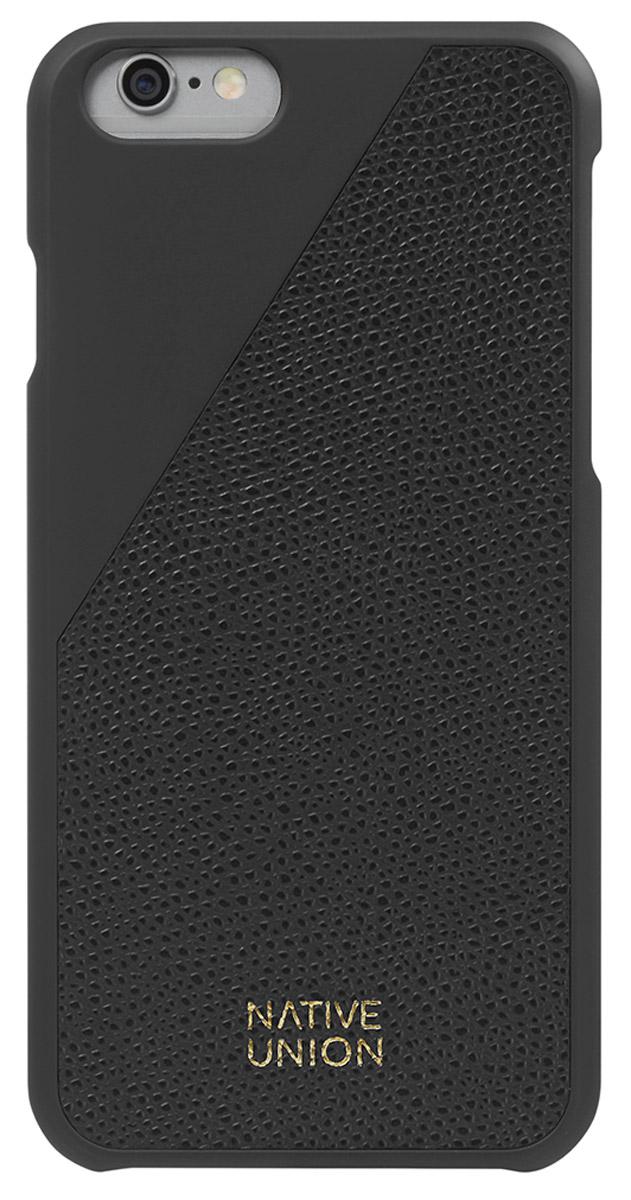 Native Union CLIC Leather чехол из телячьей кожи для iPhone 6/6s, BlackCLIC-BLK-LE-H-6SЭлегантный чехол из натуральной телячьей кожи. Фабрика по выделки кожи находится во Франции, мастера имеют богатый опыт, который передается от поколения к поколению. Используется ручной труд с целью достижения высочайшего качества. Чехол легкий, стильный, с богатой цветовой палитрой. Это не просто защита вашего iPhone, это атрибут роскоши, где все складывается из мелочей.