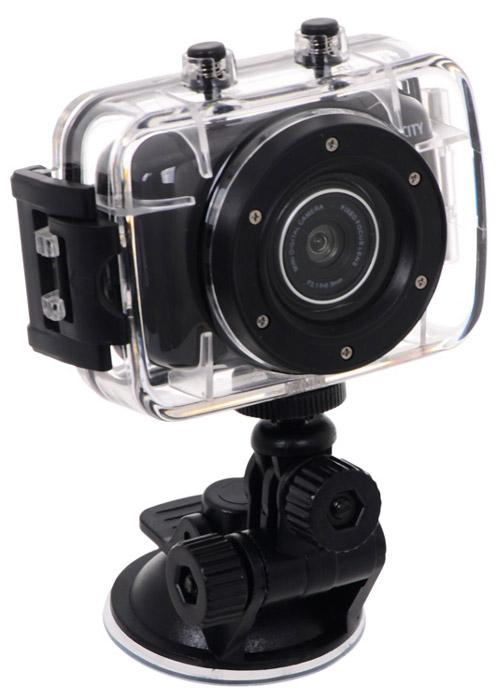 ParkCity Go 10 Pro, Black экшн-камера00000008858ParkCity Go 10 Pro - компактная и недорогая экшн-камера, сочетающая в себе высокое качество записи и удобство в использовании. В комплект входит специальный бокс, обеспечивающий защиту от серьезных ударов, попадания капель воды, позволяющий осуществлять подводную и экстремальную видеосъемку. Стандартные фиксаторы дают возможность размещать девайс на лобовом стекле автомобиля, шлеме, корпусе велосипеда, мотоцикла, водного транспорта. Встроенный аккумулятор позволяет выполнять съемку в течение двух часов, создавая файлы продолжительностью по 30 минут, чего вполне достаточно для записи эффектных моментов вашего экстремального отдыха. Камера оснащена матрицей, благодаря которой можно делать записи в формате 720p. Отлично подобранная линза с широкой апертурой дополняет это преимущество, значительно повышая контрастность съемки. Встроенный микрофон Время автономной работы: до 2 часов Фоторежим