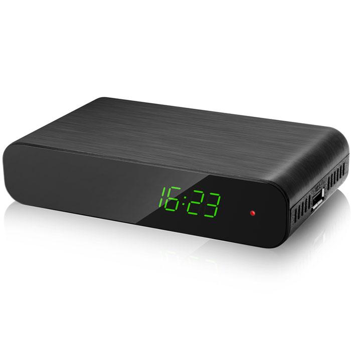 IconBIT Movie FHD T2, Black ТВ-ресиверIconBIT Movie FHD T2С помощью обычной домашней антенны цифровая приставка IconBIT Movie FHD T2 принимает каналы цифрового эфирного телевидения стандартов DVB-T, DVB-T2 MPEG-2/MPEG-4 и радио для качественного воспроизведения на ЭЛТ-, ЖК- и плазменных телевизорах, домашних кинотеатрах, акустических системах. Интерактивная программа передач EPG (Electronic Program Guide) позволяет в любую минуту узнать расписание на экране. Подключенные через USB-порт внешние Mass Storage-устройства предоставляют доступ к функциям записи телепрограмм и Timeshift (включение паузы с возможностью последующего просмотра и перемотки). Высокая скорость управления и переключения каналов Производительный процессор Прием цифровых программ на обычную домашнюю антенну Функция записи ТВ-сигнала (PVR) Совместимость с DVB-T и DVB-T2 стандартами Встроенный медиаплеер с поддержкой DOLBY