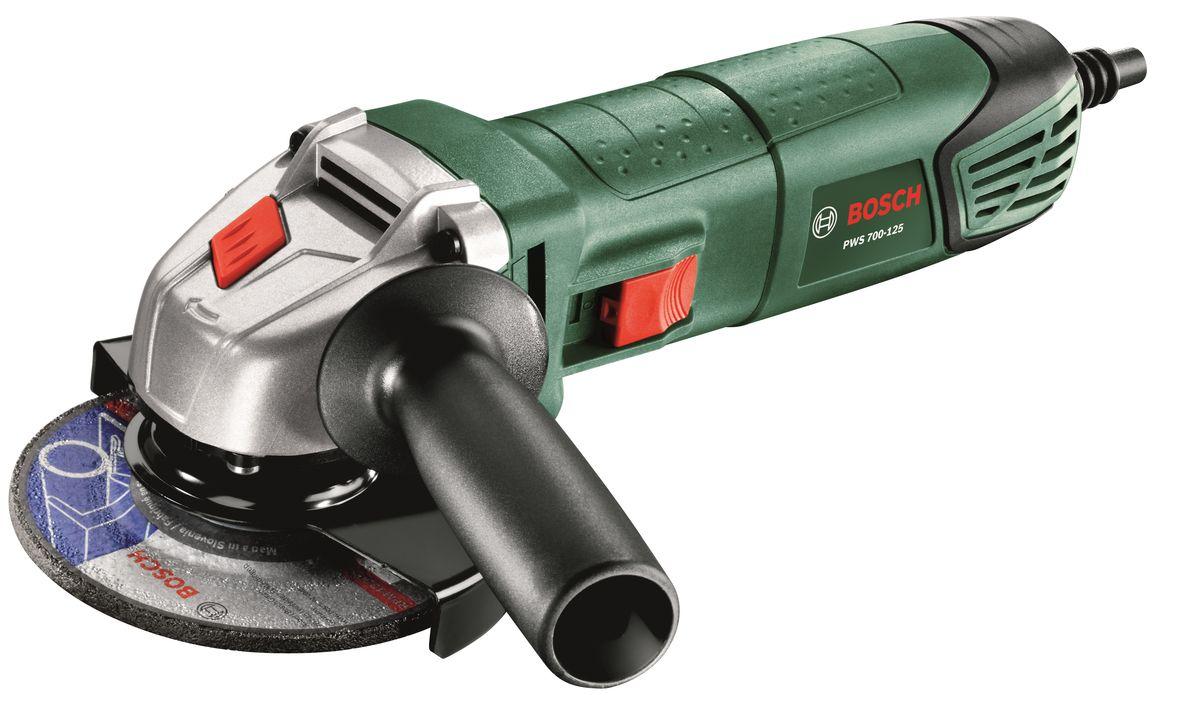 Угловая шлифмашина Bosch PWS 700-125