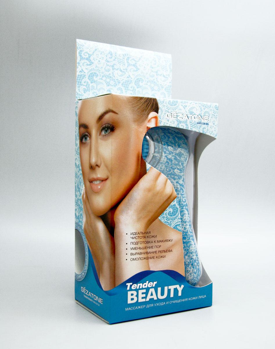 Gezatone Щетка для чистки и ухода за кожей лица Tender Beauty AMG106SA ( 1301157 )