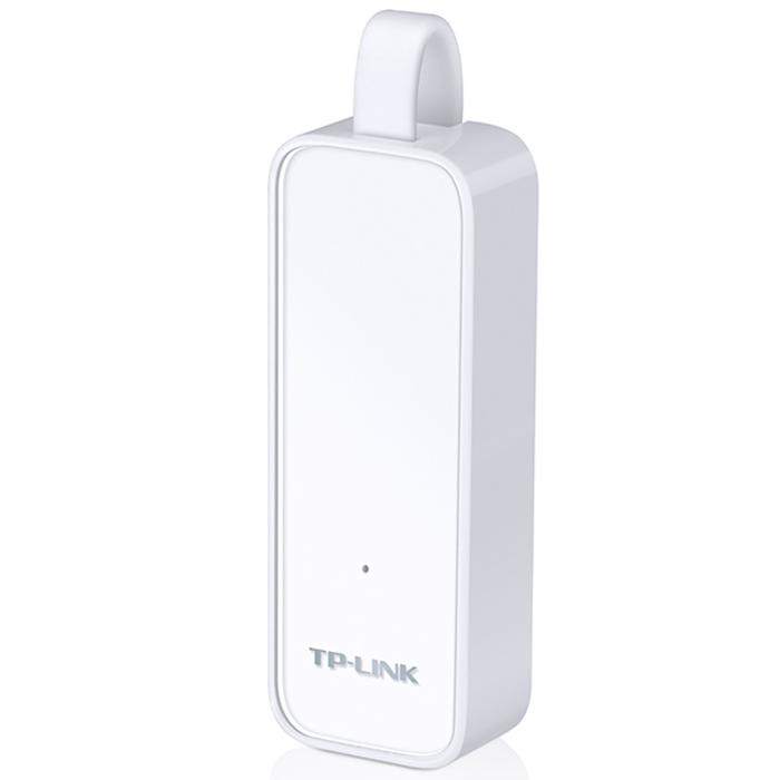 TP-Link UE300 сетевой адаптер сетевой адаптер tp link gigabit ethernet ue300 usb to rj 45 10 100 1000 мбит с белый