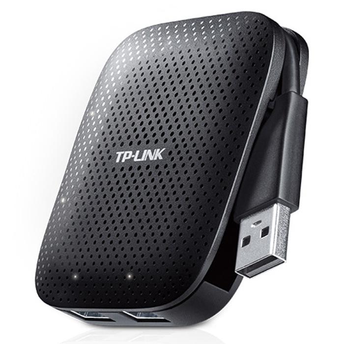 TP-Link UH400, Black концентратор USB 3.0 на 4 портаUH400Концентратор USB 3.0 обеспечивает одновременное подключение до 4 устройств и позволяет увеличить количество доступных портов USB для пользователей ноутбуков или персональных компьютеров. Пользователи смогут одновременно использовать до 4 USB-устройств, включая флэш-накопители, мыши, принтеры, внешние жёсткие диски, кабели для зарядки смартфонов и прочее.
