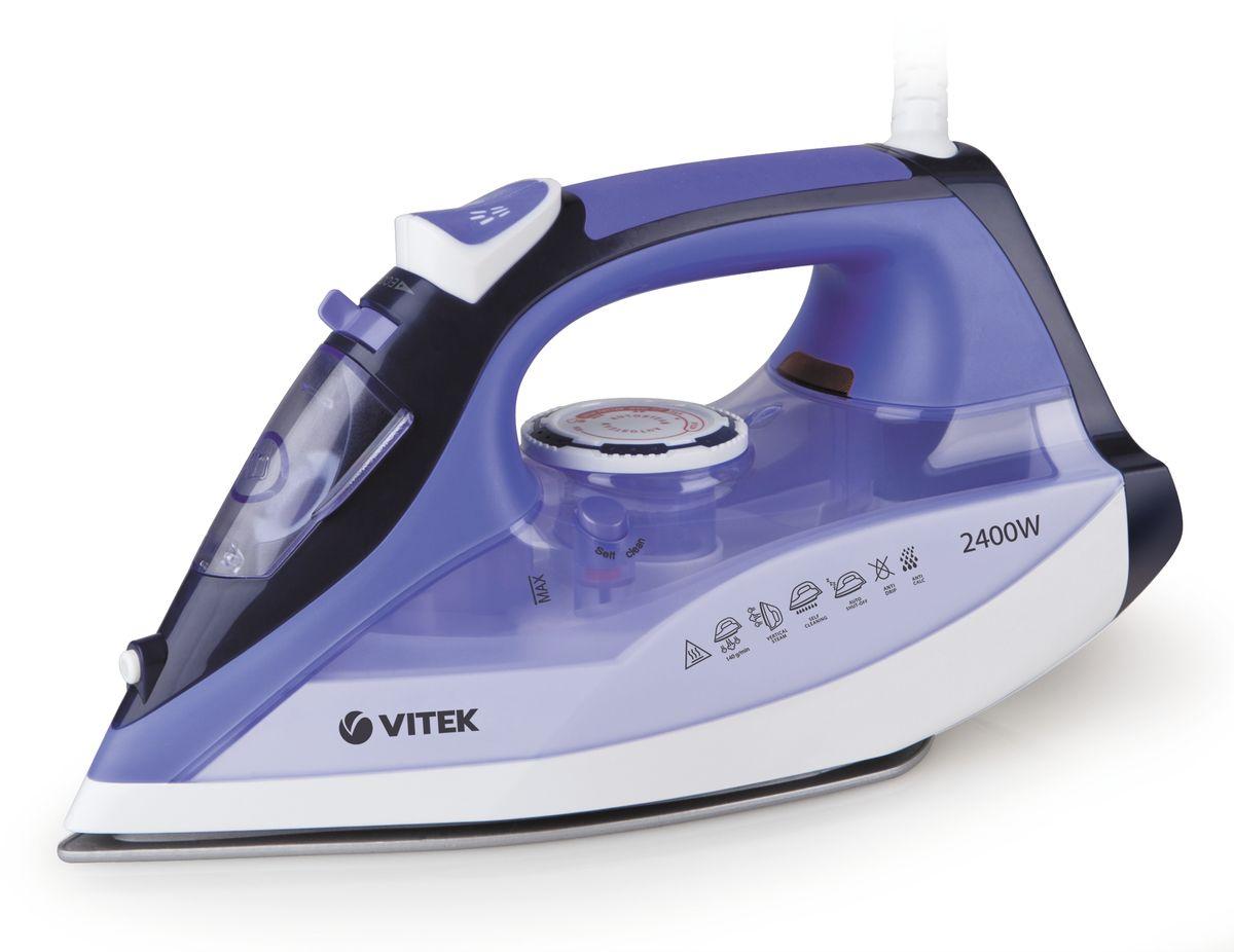 Vitek VT-1239(B) утюгVT-1239(B)Утюг Vitek VT-1239(B) с пароувлажнением и плавной регулировкой температуры. Благодаря подошве Uni Cera (двойное керамическое покрытие), утюг идеально скользит по ткани и без труда разглаживает даже самые сложные складки. Вместительный резервуар для воды обеспечивает долгую непрерывную работу с паром. Утюг имеет режим сухой глажки (подачу пара можно отключить).