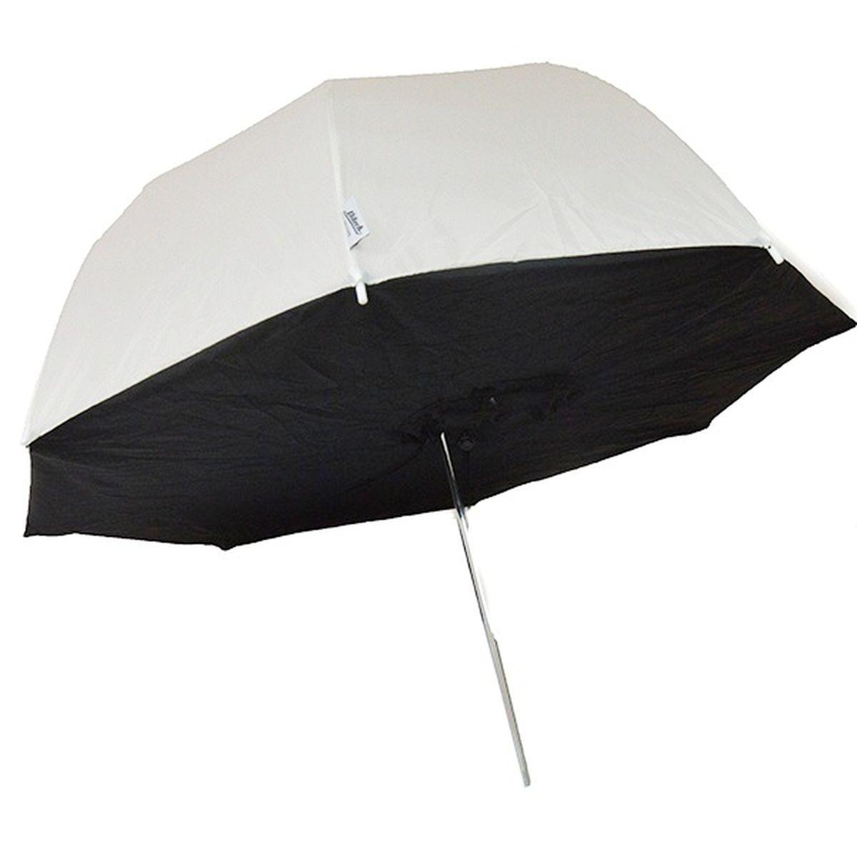 Ditech UBS40WB, White Black зонт-софтбокс для фотосъемкиUBS40WBDitech UBS40WB - светорассеивающий зонт-софтбокс для получения мягкого ненаправленного света на большой площади.