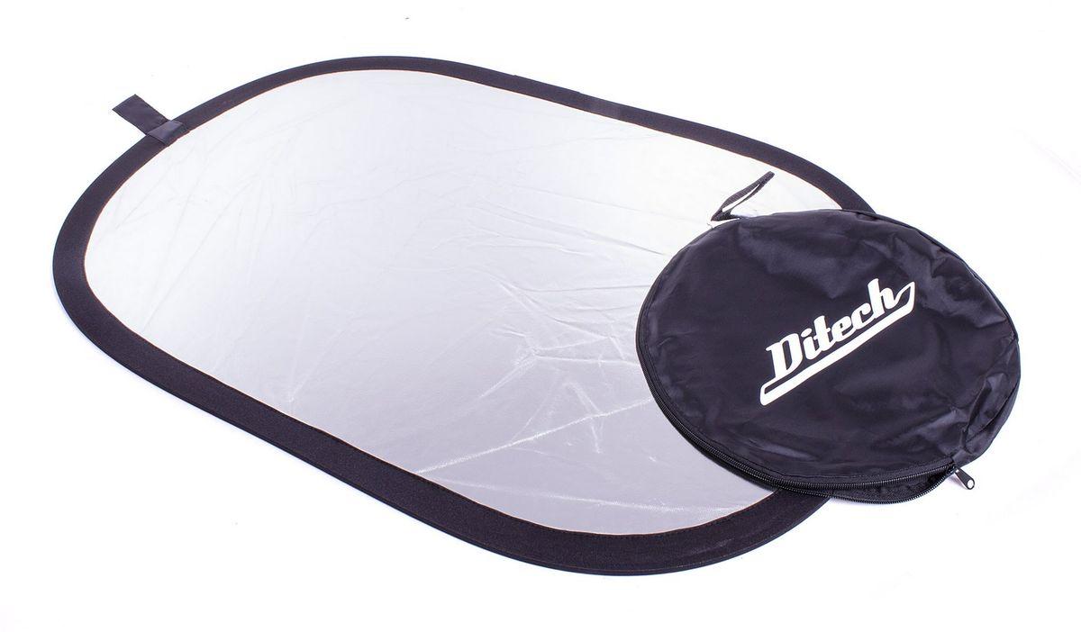 Ditech RF100150WS, White Silver прямоугольный отражательRF100150WSDitech RF100150WS - прямоугольный отражатель белый/серебро для рассеивания света или снижения температуры снимка.