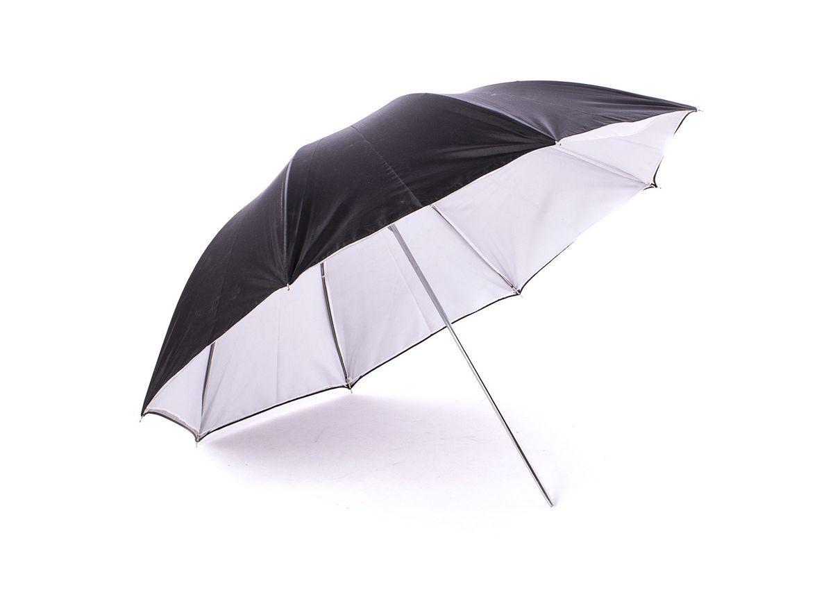 Ditech UB33WBS, White Black Silver зонт на отражение для фотосъемки двойной ( UB33WBS )