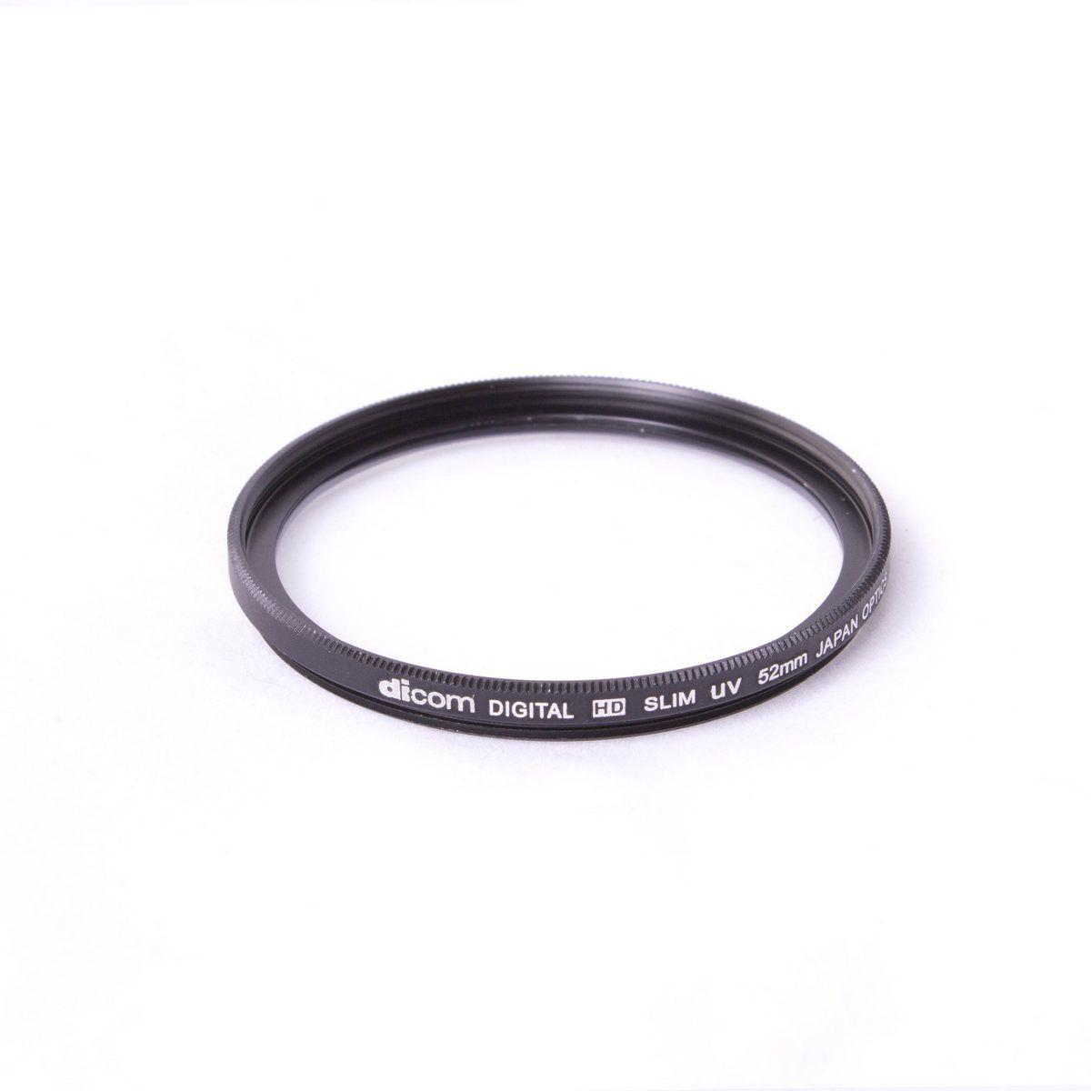 Dicom D-UVS52 52mm UV Slim тонкооправный фильтр