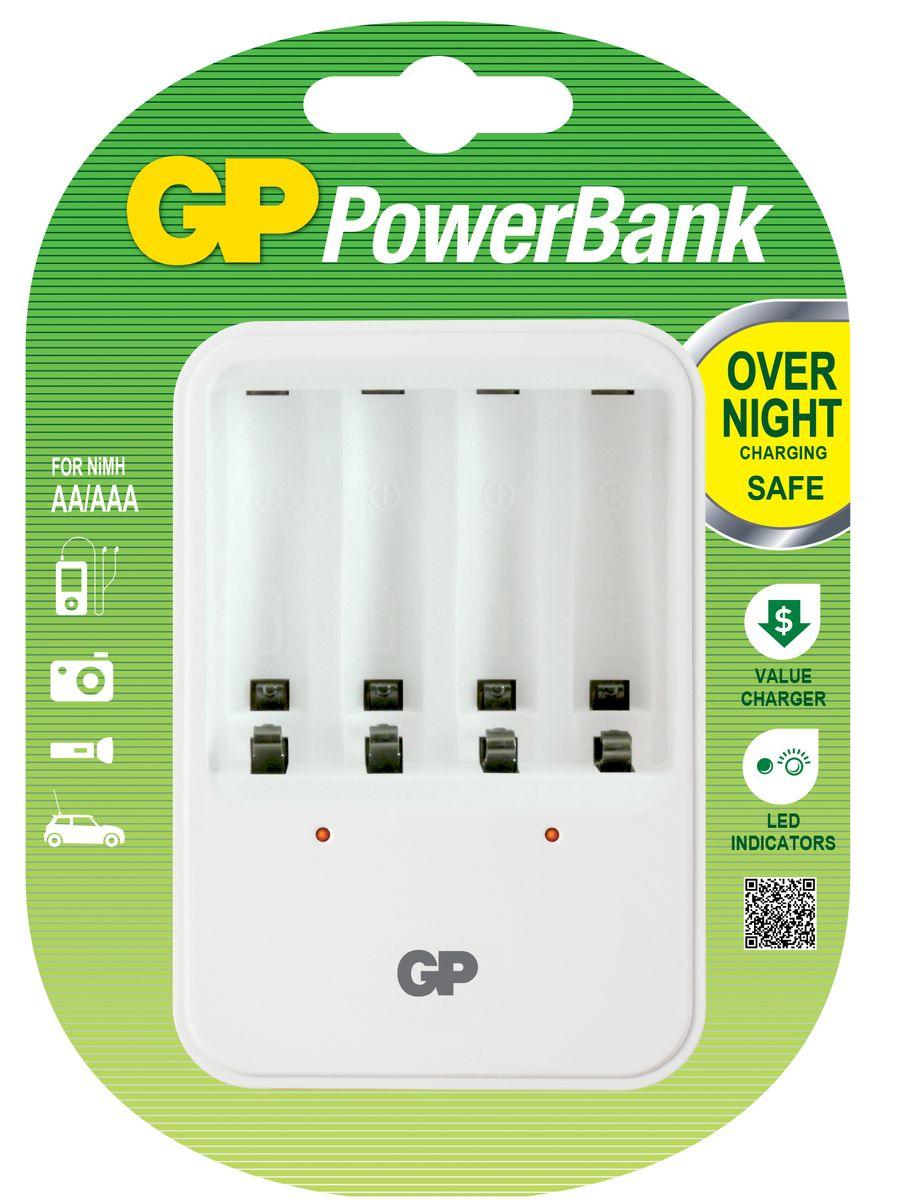 """Зарядное устройство """"GP Batteries"""" для заряда 4-х аккумуляторов типа АА, ААА"""