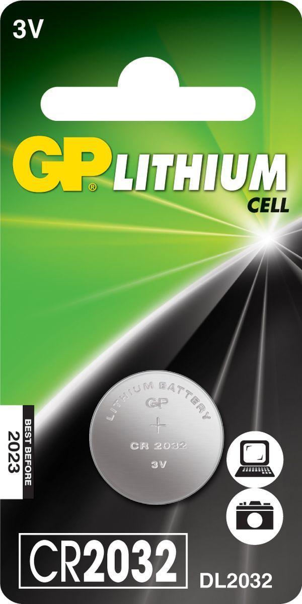 Батарейка литиевая GP Batteries, тип СR2032, 3В, 1 шт8984Литиевые элементы питания GP показывают великолепный результат в профессиональных приборах, а также в устройствах с высоким потреблением энергии. Они идеальны для медицинских приборов и отлично работают в экстремальных погодных условиях. * Лучшее решение для профессиональных и медицинских приборов * На 40% легче обычных батареек * Демонстрируют превосходный результат при экстремальных погодных условиях (от -40°C до 60°C) * Встроенная система защиты * Длительный срок хранения (10 лет)