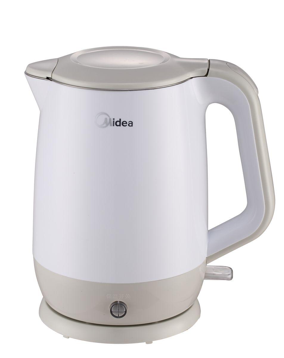 Midea MK-17S18M1 электрический чайникMidea MK-17S18M1Midea MK-17S18M1 - это мощная (2200 Вт) модель большого объема (1,7 л). С помощью этого чайника вы сможете приготовить чай на большую компанию за считанные минуты. Вращающийся корпус сделает использование чайника еще более удобным, а фильтр избавит от попадания накипи в чашку.