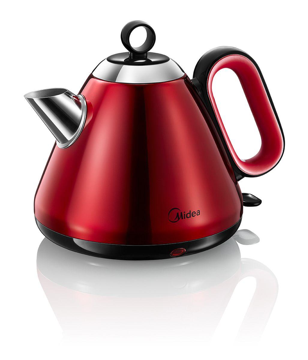Midea MK-H317E2B-RD электрический чайникMidea MK-H317E2B-RDMidea MK-H317E2B-BL - это мощная (2200 Вт) модель большого объема (1,7 л). С помощью этого чайника вы сможете приготовить чай на большую компанию за считанные минуты. Вращающийся корпус из нержавеющей стали сделает использование чайника еще более удобным.