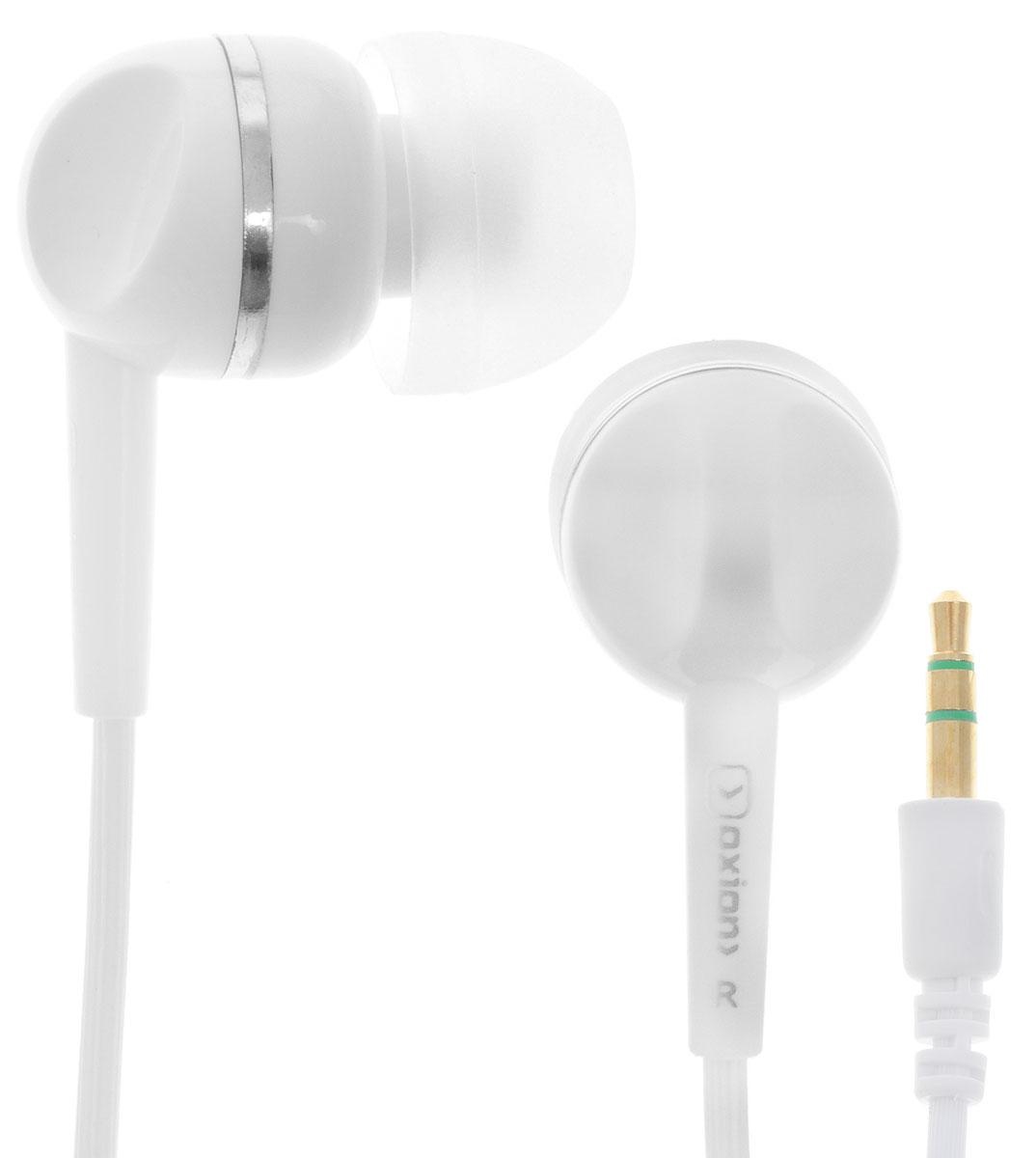 Oxion EPO400, White наушникиEPO400WHСтильные проводные стереонаушники Oxion EPO400 с внутриканальными силиконовыми вкладками. Закрытый дизайн конструкции и высококачественный динамик обеспечивают хорошую защиту от внешних шумов и отличную звукопередачу. Легкие и комфортные в применении.
