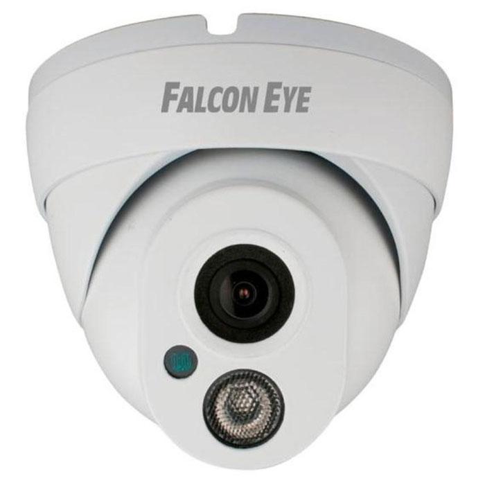 Falcon Eye FE-IPC-DL100P уличная IP-камераFE-IPC-DL100PFalcon Eye FE-IPC-DL100P - IP-камера, которая устанавливается как внутри помещения, так и за его приделами. Устройство оснащено 1/4-дюймовой CMOS-матрицей и действующей на расстоянии до 15 метров ИК-подсветкой. IP- камера производит запись в разрешении 1280х720 и формате H.264. Модель оснащена функциями, позволяющими проводить ночную съемку и отсылать оповещения на смартфон пользователя под управлением iOS или Android. Камера наблюдения работает при температурном режиме от -10 до +55C°. Угол обзора составляет 70°. Устройство поддерживает РоЕ-технологию (одновременная передача данных и питания IP-камеры с помощью Ethernet-кабеля). Корпус надежно защищает данную модель от проникновения влаги и пыли.