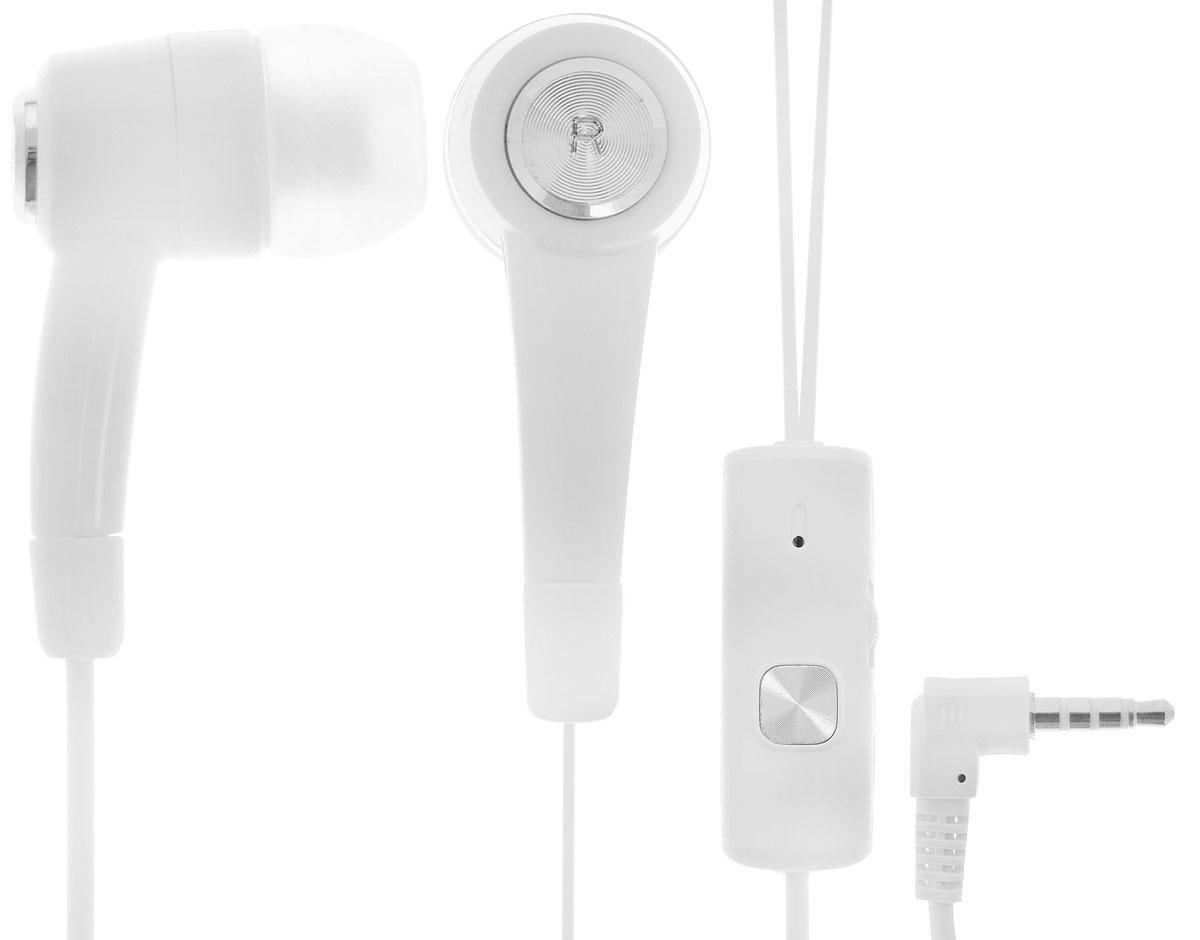 Oxion HS2002, White гарнитураOX-HS2002WHПроводная стереогарнитура Oxion HS2002 с внутриканальными наушниками. Обладает мягким проводом, пультом управления на котором находится кнопка ответа, регулятор громкости и высокочувствительный микрофон. Легкая и комфортная в применении. Инновационный дизайн и превосходное звучание.