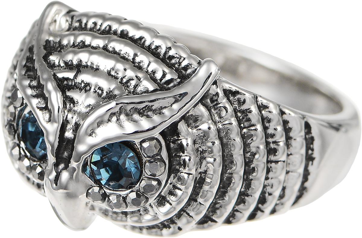 Кольцо Art-Silver, цвет: серебристый. 01315-607. Размер 1801315-607Великолепное кольцо Art-Silver изготовлено из бижутерного сплава. Декоративная часть кольца выполнена в виде головы совы. Изделие украшено цирконами. Стильное кольцо придаст вашему образу изюминку и подчеркнет индивидуальность.