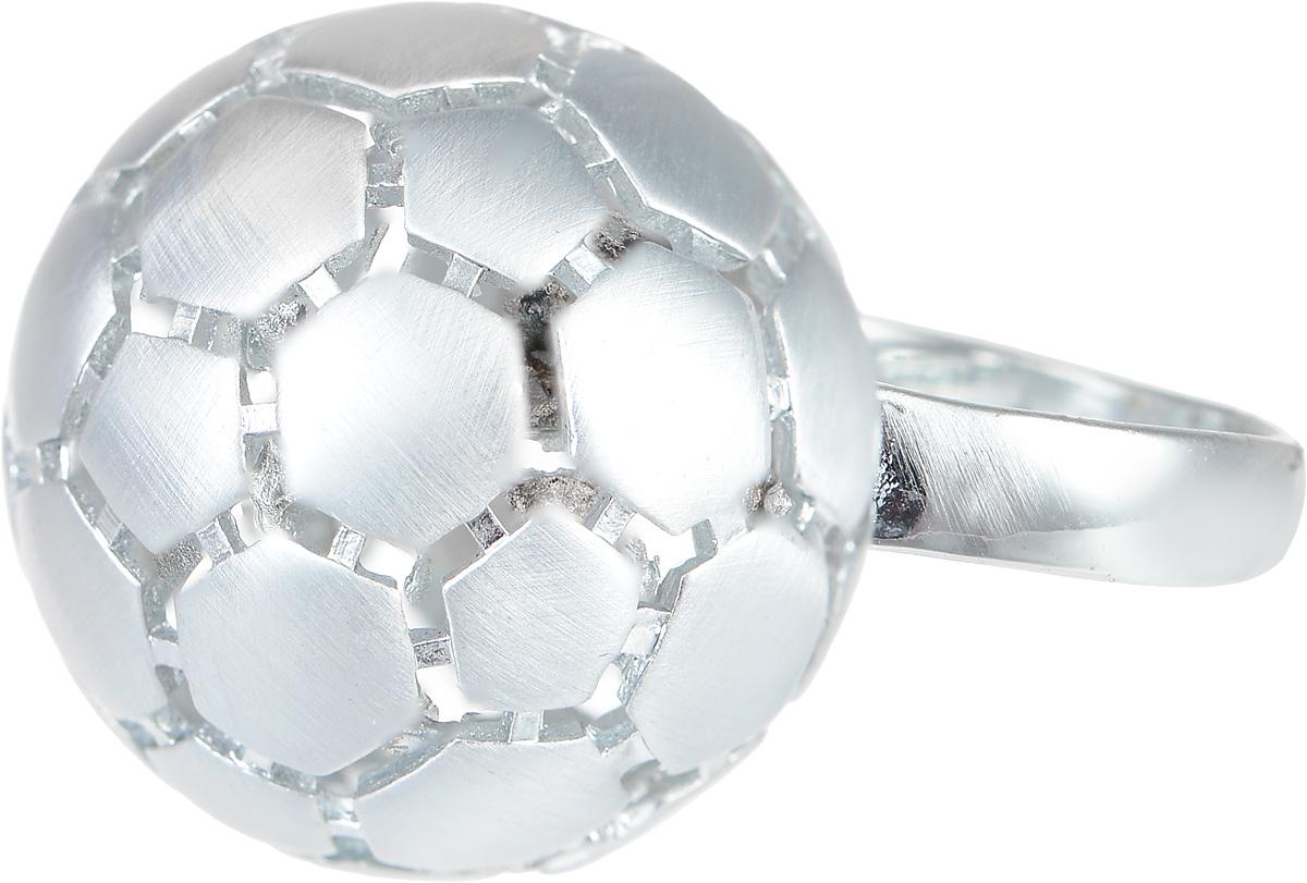 Кольцо Art-Silver, цвет: серебристый. 066315-604-528. Размер 18,5066315-604-528Стильное кольцо Art-Silver изготовлено из бижутерного сплава. Декоративный элемент кольца выполнен в виде футбольного мяча. Стильное кольцо придаст вашему образу изюминку и подчеркнет индивидуальность.