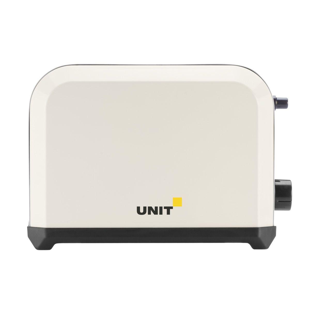 Unit UST-018, Beige тостерCE-0353957Тостер Unit UST-018 представляет собой сочетание удобства, функциональности и элегантного внешнего вида. Мощность в 750 Вт, простота управления и быстрое приготовление тостов, дополняется возможностью выбора степени прожаривания. Компактное и легкое в управлении устройство позволит приготовить вкуснейшие тосты за считанные минуты стразу на двоих. Вы можете в любой момент остановить процесс поджаривания! Ухаживать за тостером легко и приятно благодаря наличию поддона для крошек.