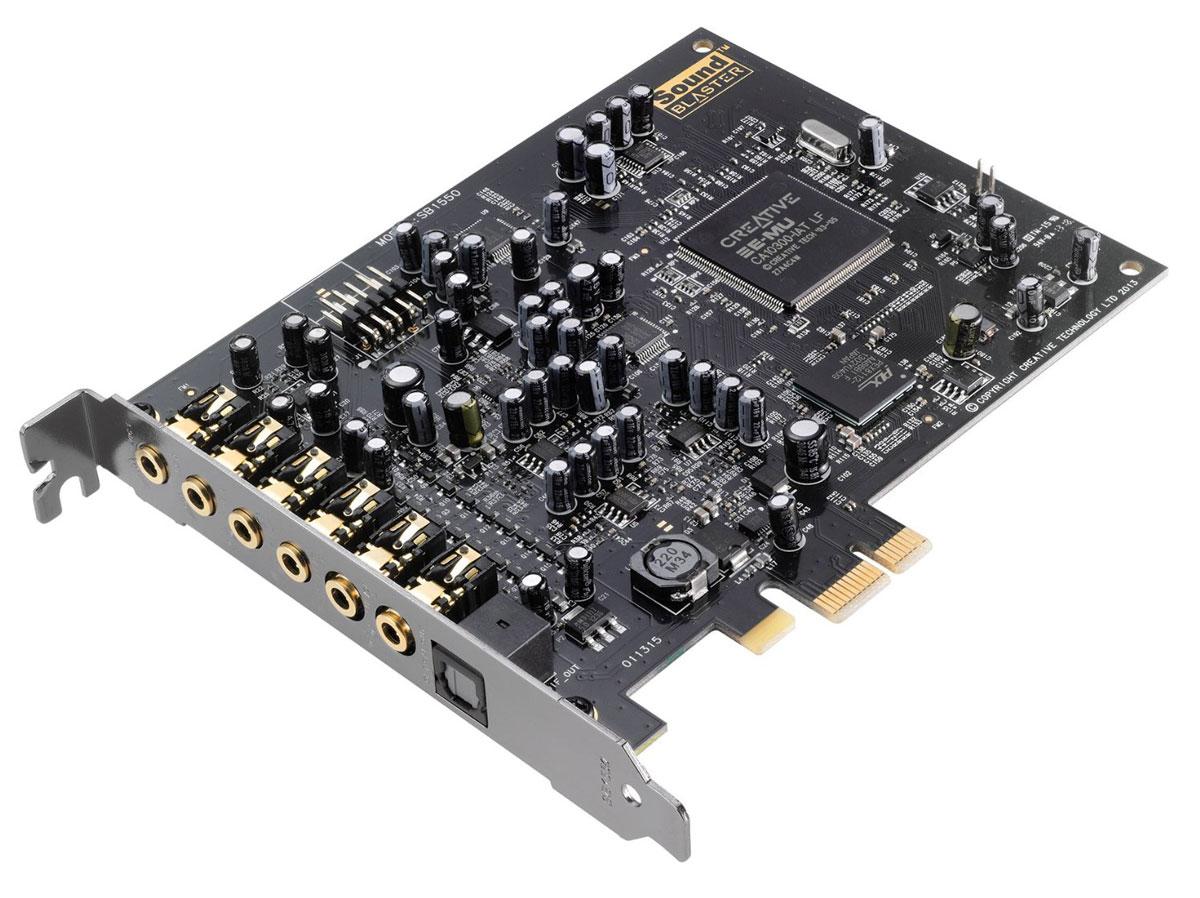 Creative Sound Blaster Audigy Rx звуковая карта70SB155000001Ощутите изумление от высококачественного подкаста и многоканального объемного звучания! Аппаратно- ускоренные эффекты EAX позволят вам с легкостью объединять множество звуковых эффектов! Кроме того, карта характеризуется низким уровнем шумов с отношением 106 дБ, наличием выхода на наушники с сопротивлением 600 Ом, что сопоставимо со студийным оборудованием, а также пакетом программного обеспечения, при помощи которого можно выполнить полную настройку параметров звучания. Sound Blaster Audigy Rx представляет собой передовую звуковую карту, которая позволяет осуществить переход со встроенной в системную плату карты на непревзойденное кинематографическое объемное звучание. Благодаря продвинутому чипсету, предназначенному для использования совместно с легендарной технологией реверберации EAX, пользователи звуковой карты Sound Blaster Audigy Rx смогут насладиться уникальным 7.1- канальным звуком. Карта также отличается низким уровнем шумов с отношением 106 дБ и ...