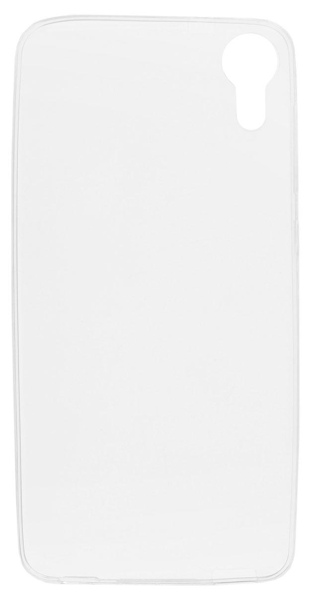 Red Line iBox Crystal чехол для HTC Desire 825, ClearУТ000008697Практичный и тонкий силиконовый чехол Red Line iBox Crystal для HTC Desire 825 защищает телефон от царапин, ударов и других повреждений. Чехол изготовлен из высококачественного материала, плотно облегает смартфон и имеет все необходимые технологические отверстия, соответствующие модели телефона. Силиконовый чехол iBox Crystal долгое время сохраняет свою первоначальную форму и не растягивается на смартфоне.