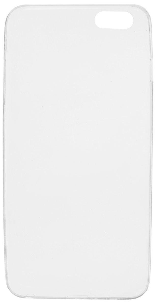 Red Line iBox Crystal чехол для iPhone 6/6S Plus (5.5), ClearУТ000007805Практичный и тонкий силиконовый чехол Red Line iBox Crystal для iPhone 6/6S Plus защищает телефон от царапин, ударов и других повреждений. Чехол изготовлен из высококачественного материала, плотно облегает смартфон и имеет все необходимые технологические отверстия, соответствующие модели телефона. Силиконовый чехол iBox Crystal долгое время сохраняет свою первоначальную форму и не растягивается на смартфоне.