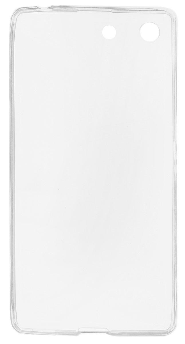 Red Line iBox Crystal чехол для Sony Xperia M5, ClearУТ000007463Практичный и тонкий силиконовый чехол Red Line iBox Crystal для Sony Xperia M5 защищает телефон от царапин, ударов и других повреждений. Чехол изготовлен из высококачественного материала, плотно облегает смартфон и имеет все необходимые технологические отверстия, соответствующие модели телефона. Силиконовый чехол iBox Crystal долгое время сохраняет свою первоначальную форму и не растягивается на смартфоне.