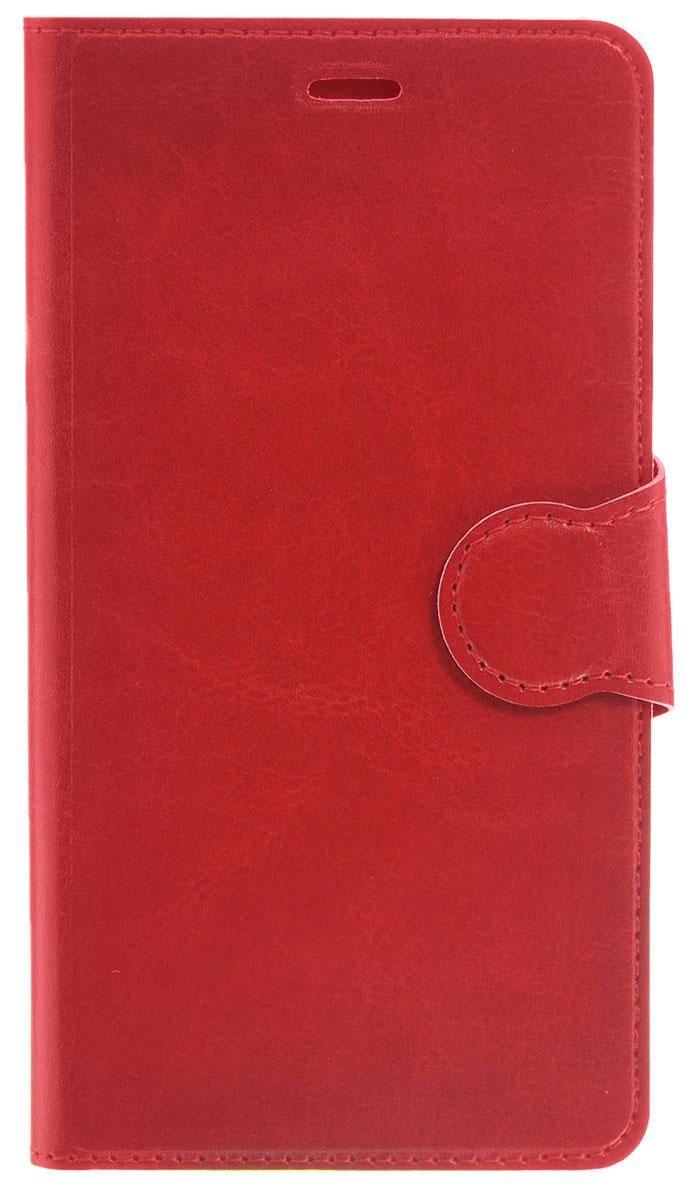 Red Line Book Type чехол-книжка для Samsung Galaxy A5 (2016), RedУТ000008774Чехол Red Line Book Type для Samsung Galaxy A5 (2016) выполнен из высококачественных материалов, не теряющих со временем своих внешних характеристик. Он обеспечивает надежную защиту корпуса и экрана смартфона и надолго сохраняет его привлекательный внешний вид. Чехол также обеспечивает свободный доступ ко всем разъемам и клавишам устройства.