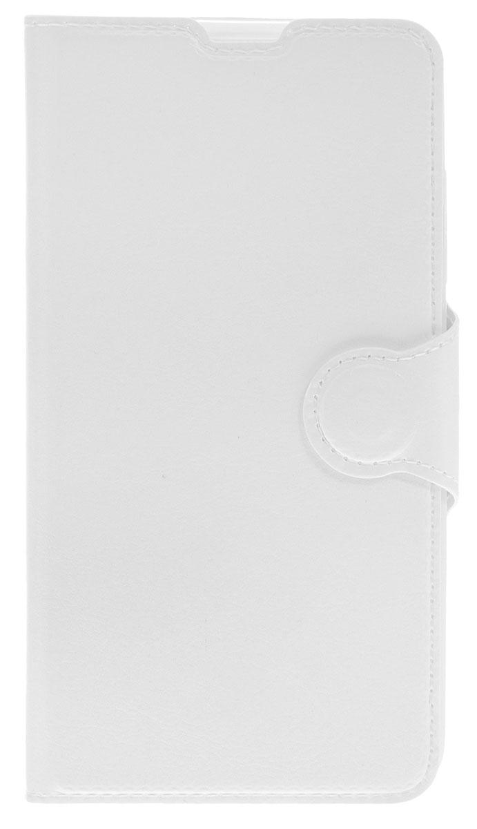 Red Line Book Type чехол-книжка для Microsoft Lumia 650, WhiteУТ000008213Чехол Red Line Book Type для Microsoft Lumia 650 выполнен из высококачественных материалов, не теряющих со временем своих внешних характеристик. Он обеспечивает надежную защиту корпуса и экрана смартфона и надолго сохраняет его привлекательный внешний вид. Чехол также обеспечивает свободный доступ ко всем разъемам и клавишам устройства.