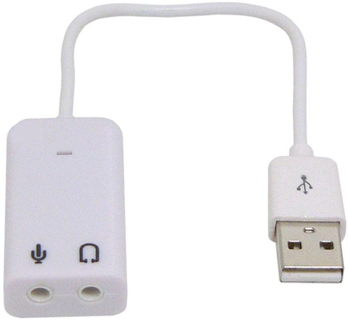Asia USB 8C V звуковая картаASIA USB 8C VВнешняя звуковая карта ASIA USB 8C V подключается к ПК через порт USB, станет альтернативной заменой внутренней платы. Преобразовывает звук в виртуальный 7.1-канальный. Совместима со всеми основными операционными системами. Чип: C-Media CM108 Максимальная частота ЦАП: 48 КГц