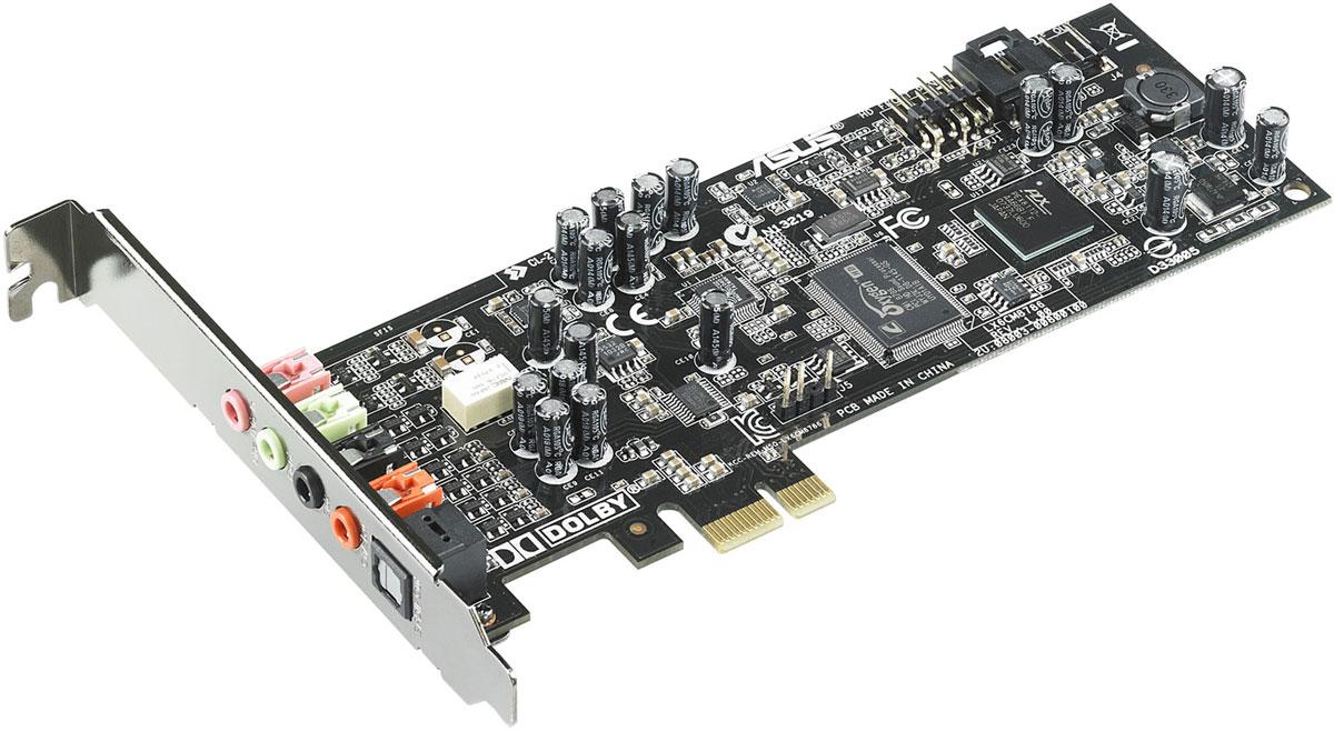 ASUS Xonar DGX звуковая картаXONAR DGXВ звуковой карте Xonar DGX реализован встроенный усилитель наушников, технология Dolby Headphone 5.1 и эксклюзивный обработчик аудиоэффектов GX 2.5. Все это обеспечивает четкое и детальное звучание с точным позиционированием источников звука в пространстве, что делает Xonar DGX идеальной картой для геймеров. Три режима усиления для различных приложений: Режим VoIP. Предназначен для голосового общения по сети. Геймерский режим. Улучшает пространственное позиционирование источников звука. Музыкальный режим. Обеспечивает более мощный бас и глубину звуковой сцены. Благодаря технологии Dolby Headphone звуковая карта Xonar DGX может создать эффект пространственного звучания при использовании обычных стереонаушников. Аудиопроцессор GX2.5 звуковой карты Xonar позволит вам услышать все оттенки звука в ваших любимых играх: как подкрадывается сзади враг или как эхом отражается каждый шаг в подземелье. Он полностью совместим с ...