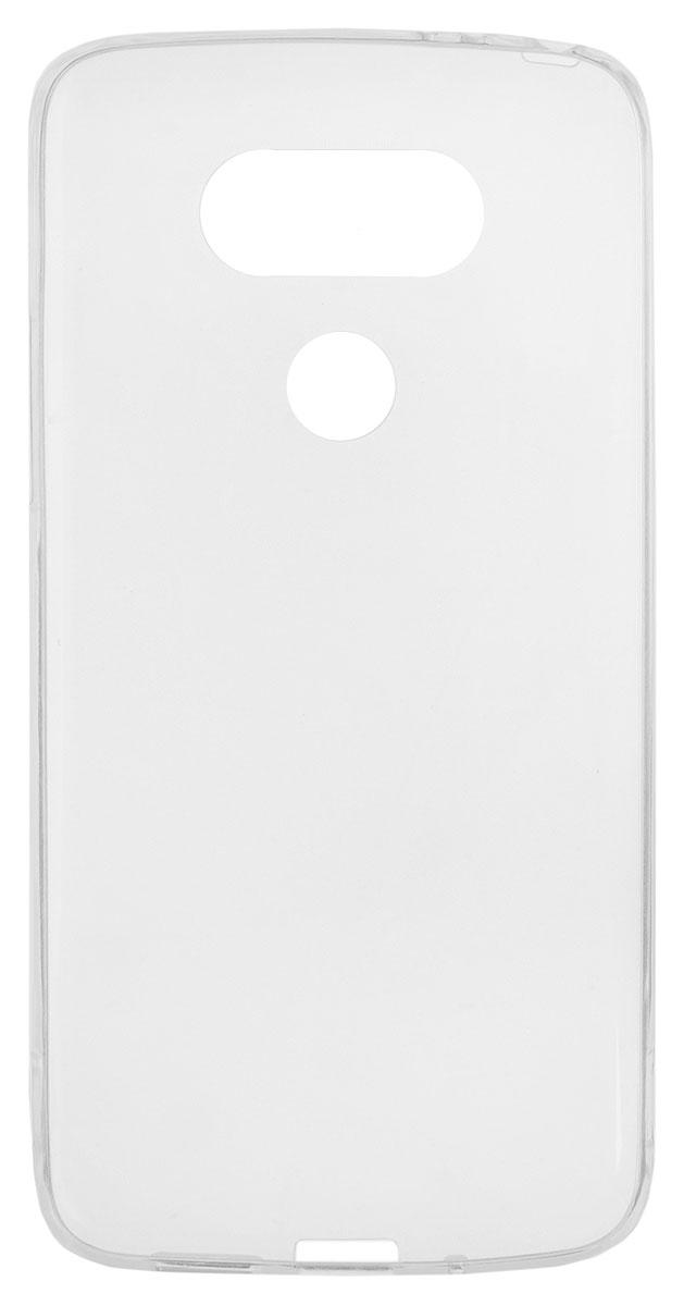 Red Line iBox Crystal чехол для LG G5, ClearУТ000008862Практичный и тонкий силиконовый чехол Red Line iBox Crystal для LG G5 защищает телефон от царапин, ударов и других повреждений. Чехол изготовлен из высококачественного материала, плотно облегает смартфон и имеет все необходимые технологические отверстия, соответствующие модели телефона. Силиконовый чехол iBox Crystal долгое время сохраняет свою первоначальную форму и не растягивается на смартфоне.