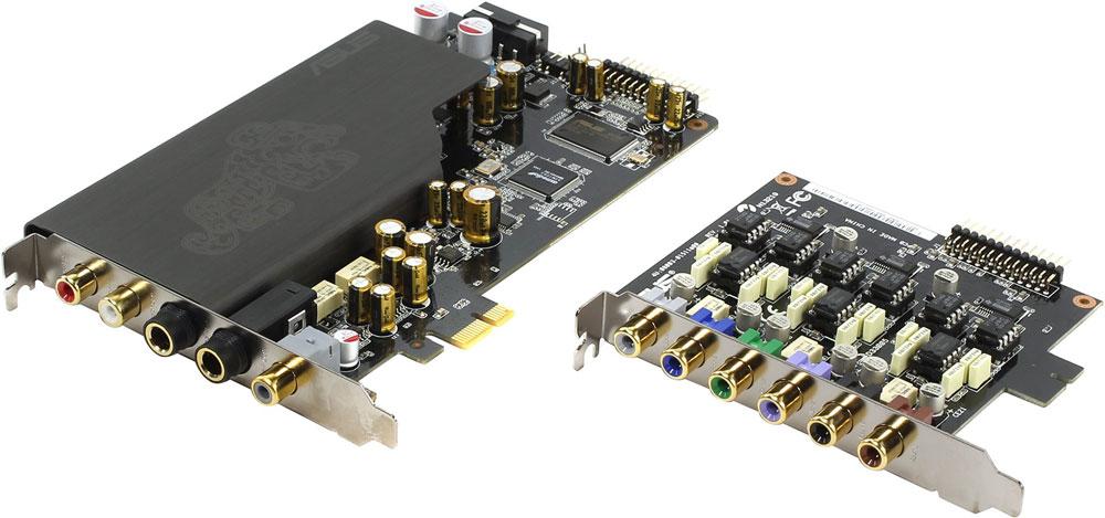 ASUS Essence STX II 7.1 звуковая картаESSENCE STX II 7.1Asus Essence STX II 7.1 - звуковая карта для аудиофилов с оригинальным дизайном. Благодаря использованию отборных компонентов и продуманной конструкции соотношение сигнал/шум звуковой карты Xonar Essence STX II 7.1 составляет 124 дБ. Это значит, что ее звучание в 64 раза чище, чем тот звук, который выдают обычные аудио-ядра, встраиваемые в материнские платы. Усилитель для наушников, встроенный в звуковую карту, позволит получить максимальное качество звука. Уровень искажений этого усилителя составляет менее 0.001% при подключении наушников с импедансом до 600 Ом. Многослойная конструкция печатной платы позволяет отделить аудиосигналы от источников шумов. Надежная электромагнитная изоляция аналоговых цепей обеспечивает низкий уровень посторонних шумов в воспроизводимом сигнале. В данной звуковой карте используется высококачественный цифро-аналоговый преобразователь Burr-brown PCM 1792A DAC, обладающий отличным соотношением...