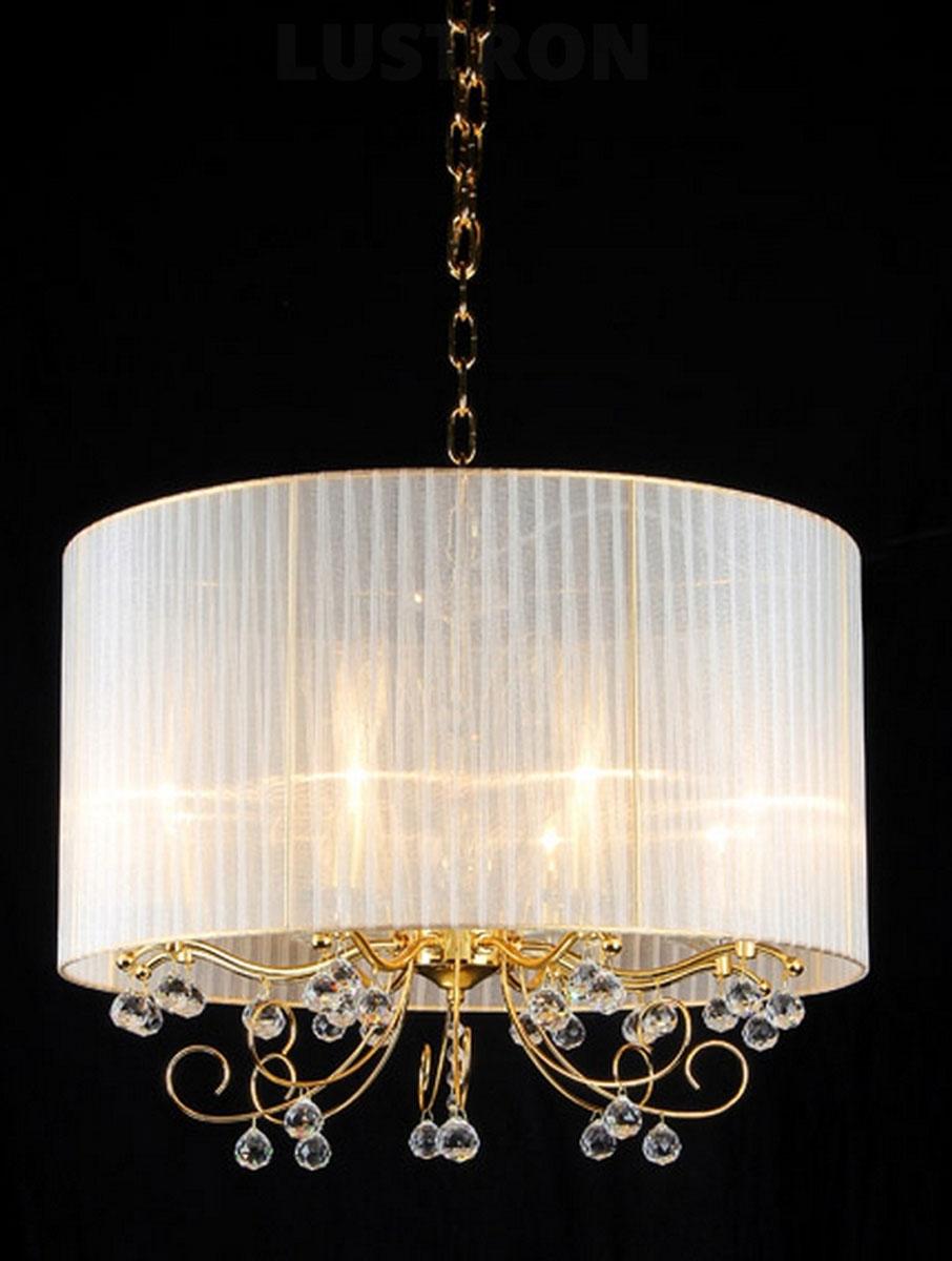 Люстра Natali Kovaltseva Elegance 11009/8C Gold, Clear