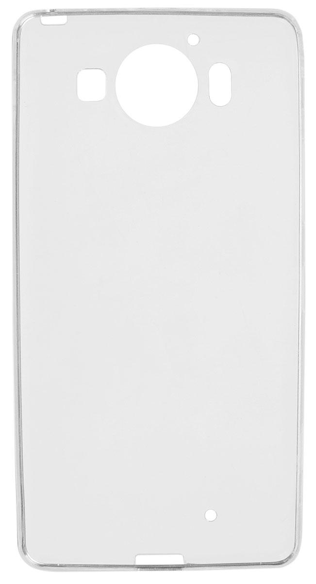 Red Line iBox Crystal чехол для Microsoft Lumia 950, ClearУТ000007777Практичный и тонкий силиконовый чехол Red Line iBox Crystal для Microsoft Lumia 950 защищает телефон от царапин, ударов и других повреждений. Чехол изготовлен из высококачественного материала, плотно облегает смартфон и имеет все необходимые технологические отверстия, соответствующие модели телефона. Силиконовый чехол iBox Crystal долгое время сохраняет свою первоначальную форму и не растягивается на смартфоне.