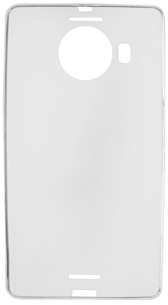 Red Line iBox Crystal чехол для Microsoft Lumia 950 XL, ClearУТ000007776Практичный и тонкий силиконовый чехол Red Line iBox Crystal для Microsoft Lumia 950 XL защищает телефон от царапин, ударов и других повреждений. Чехол изготовлен из высококачественного материала, плотно облегает смартфон и имеет все необходимые технологические отверстия, соответствующие модели телефона. Силиконовый чехол iBox Crystal долгое время сохраняет свою первоначальную форму и не растягивается на смартфоне.