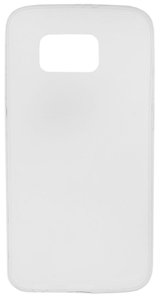 Red Line iBox Crystal чехол для Samsung Galaxy S6, ClearУТ000007069Практичный и тонкий силиконовый чехол Red Line iBox Crystal для Samsung Galaxy S6 защищает телефон от царапин, ударов и других повреждений. Чехол изготовлен из высококачественного материала, плотно облегает смартфон и имеет все необходимые технологические отверстия, соответствующие модели телефона. Силиконовый чехол iBox Crystal долгое время сохраняет свою первоначальную форму и не растягивается на смартфоне.