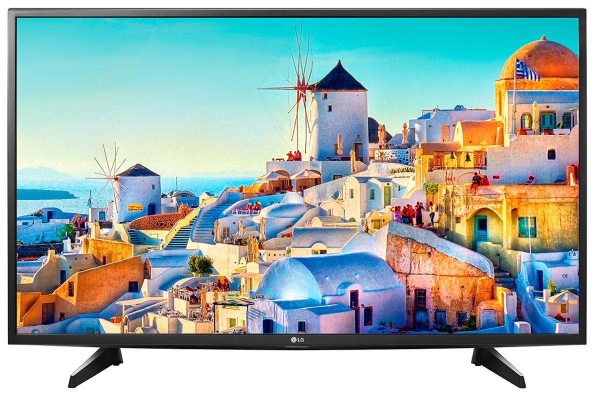 LG 43UH610V телевизор43UH610VСовременный телевизор LG 43UH610V для всей семьи. HDR Pro: Функция HDR Pro позволяет увидеть фильмы с теми яркостью, богатейшей палитрой и точностью цветовых оттенков, с какими они были сняты. Трёхмерная обработка цвета: В новых UHD телевизорах LG используется трёхмерный алгоритм обработки цвета, что позволяет минимизировать искажения и добиться оттенков, максимально приближенных к натуральным. Энергосбережение: Эта функция включает в себя контроль подсветки, который позволяет регулировать яркость экрана в целях экономии электроэнергии. ULTRA Surround: Специальный алгоритм преобразовывает звуковые волны, исходящие из двухканальных динамиков так, что вам будет казаться, что вы слушаете 7-канальный звук. Получите ещё больше удовольствия от просмотра 4К фильмов! webOS 3.0: Обновлённая операционная система LG SMART TV на базе webOS 3.0 создана для того, чтобы доступ к фильмам, сериалам,...