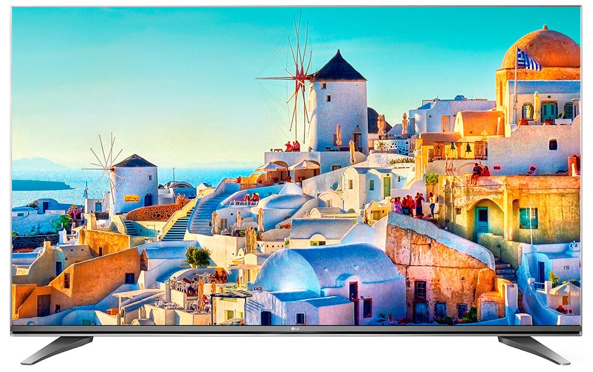 LG 43UH750V телевизор43UH750VОцените инновационный сверхтонкий дизайн ULTRA Slim, который придает телевизору LG 43UH750V исключительно изысканный и элегантный вид. Дизайн ULTRA Slim не только позволит вам сэкономить место, но и гармонично дополнит собой современный эстетичный интерьер вашего дома. HDR Pro: Функция HDR Pro позволяет увидеть фильмы с теми яркостью, богатейшей палитрой и точностью цветовых оттенков, с какими они были сняты. ColorPrime Pro: Яркие и сочные, натуральные оттенки теперь могут быть отображены благодаря расширенному цветовому спектру дисплея UHD телевизоров LG. Широкий угол обзора: IPS 4K экран UHD телевизора LG всегда покажет вам идентичные цвета вне зависимости от того из какой части комнаты вы будете его смотреть. УЛЬТРА Яркость: Схема строения панели и внутренней подсветки в новых UHD телевизорах LG позволяет свести к минимуму появление ореолов на границе ярких и тёмных объектов, что способствует...