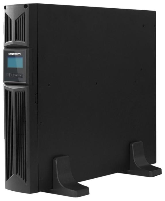 Источник бесперебойного питания Ippon Innova RT 1000, Black9103-53632-00PСерия источников бесперебойного питания IPPON INNOVA RT выполнена по технологии On-Line (с двойным преобразованием входного напряжения). Они обеспечивают прекрасную защиту для серверных систем под управлением Novell, Windows NT и UNIX, а также другого важного и дорогостоящего оборудования. Двойное преобразование полностью устраняет опасности, связанные с нарушением электропитания.