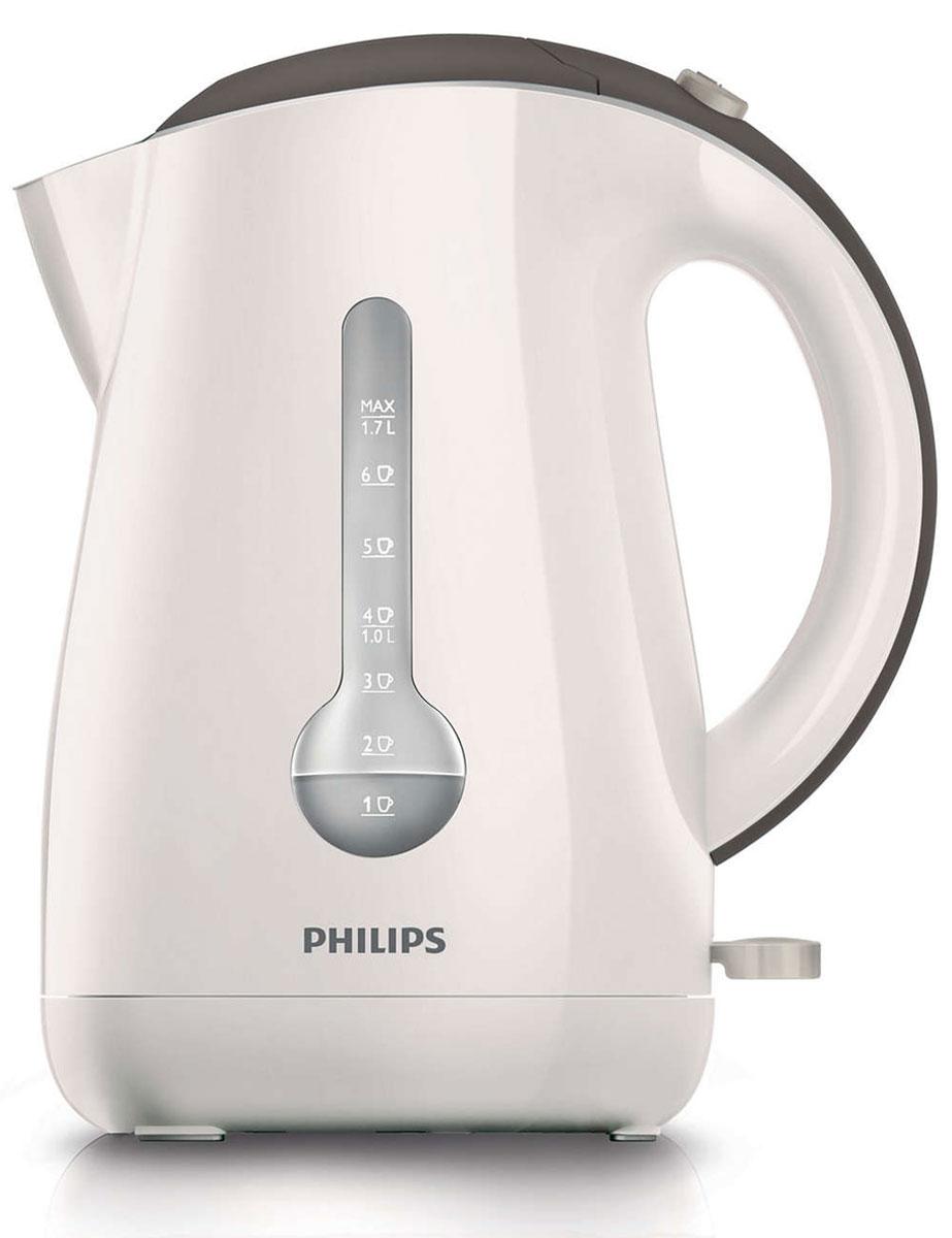 Philips HD4677/50 электрочайникHD4677/50Уникальный индикатор на 1 чашку позволяет вскипятить в этом стильном чайнике Philips HD4677/50 ровно столько воды, сколько вам нужно, что поможет сэкономить до 66% энергии и снизить негативное влияние на окружающую среду. Беспроводная подставка с поворотом на 360° для удобства использования. Катушка для удобного хранения шнура Шнур оборачивается вокруг основания, что позволяет легко разместить чайник на кухне. Индикатор воды по чашкам позволяет вскипятить столько воды, сколько нужно Если вы кипятите ровно столько воды, сколько нужно, вы экономите до 66% энергии и воды, внося свой вклад в защиту окружающей среды. Широко открывающаяся откидная крышка для удобства наполнения и чистки чайника Широко открывающаяся откидная крышка для удобства наполнения и чистки чайника исключает контакт с паром. Плоский нагревательный элемент для быстрого кипячения воды и легкой чистки Встроенный нагревательный элемент из...