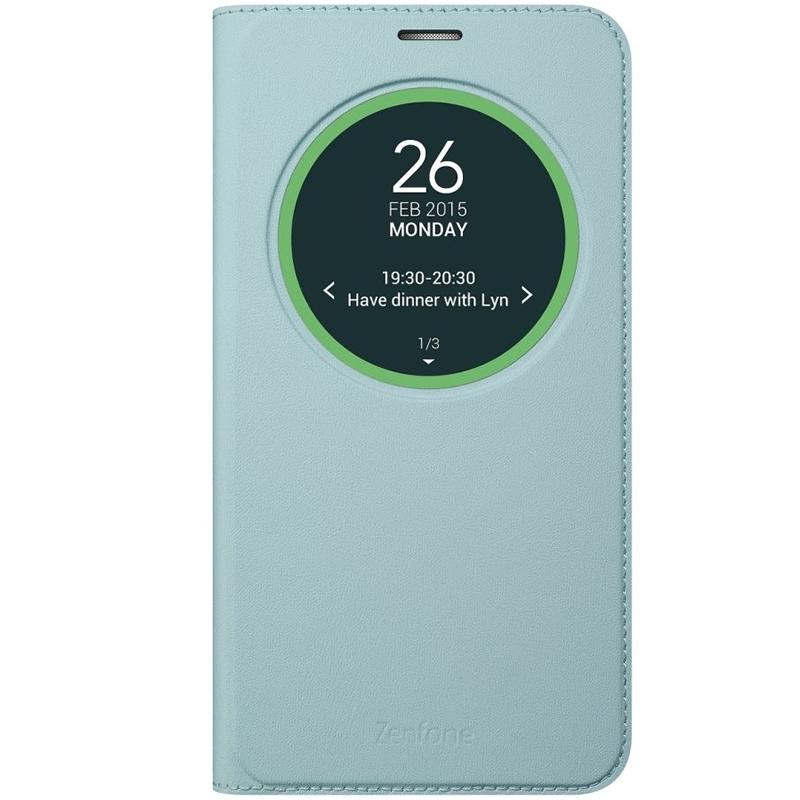 Чехол (флип-кейс) Asus View Flip Cover для ZenFone 2 ZB551KL, Light Blue90AC0170-BCV002