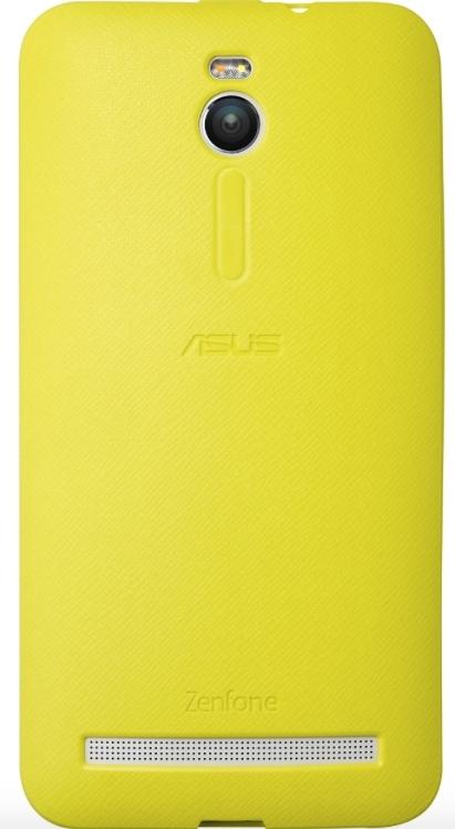 Чехол-бампер ASUS PF-01 для ZenFone ZE55*, Yellow90XB00RA-BSL2W0Защищает ваш смартфон от ударов, царапин и потертостей. Не мешает пользоваться кнопками, разъемами и камерой, динамик устройства не потеряет громкости.