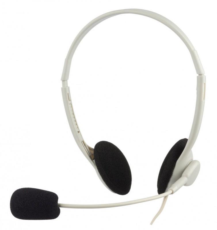 Наушники с микрофоном Oklick HS-M143VW, White