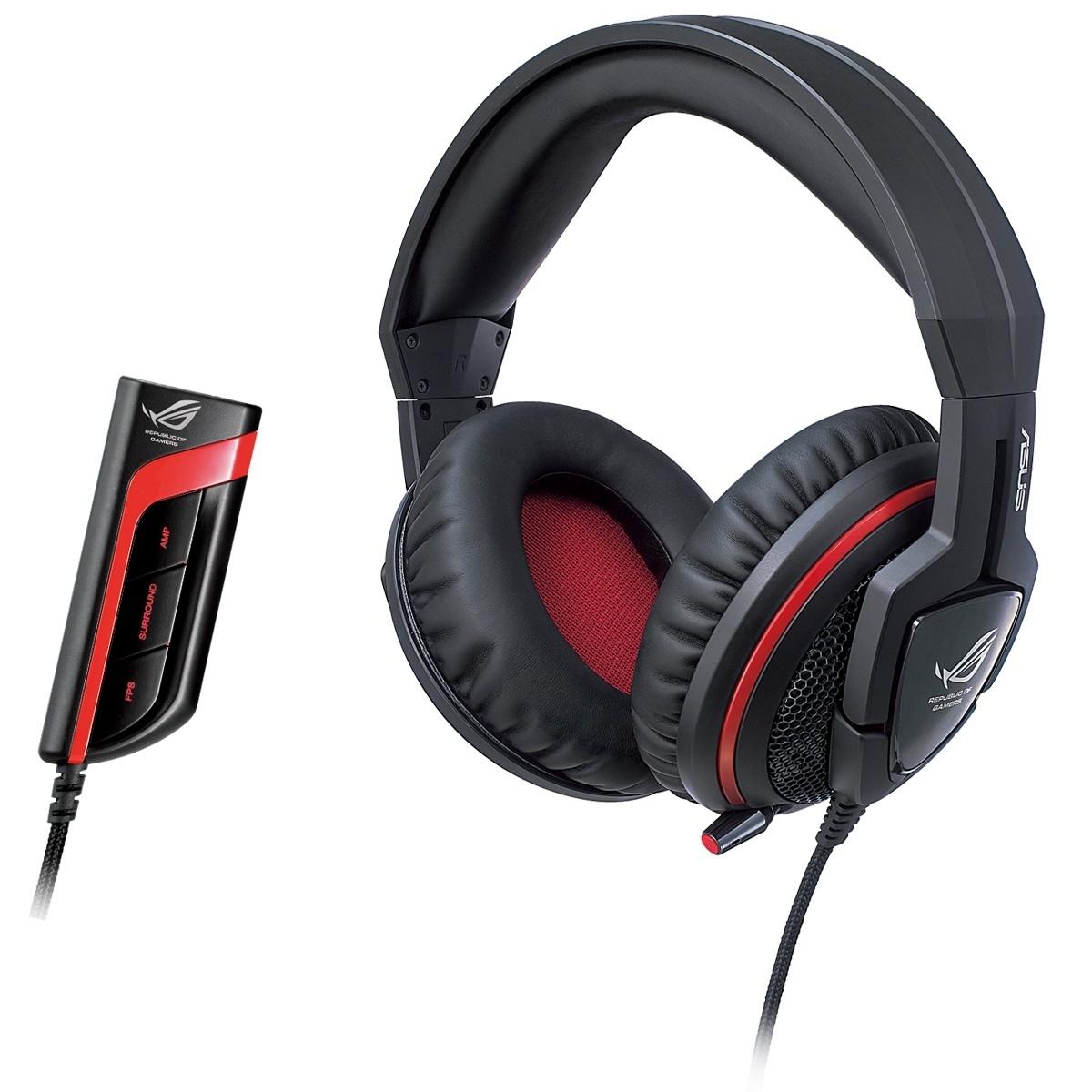 Игровая гарнитура Asus Orion Pro, Black Red