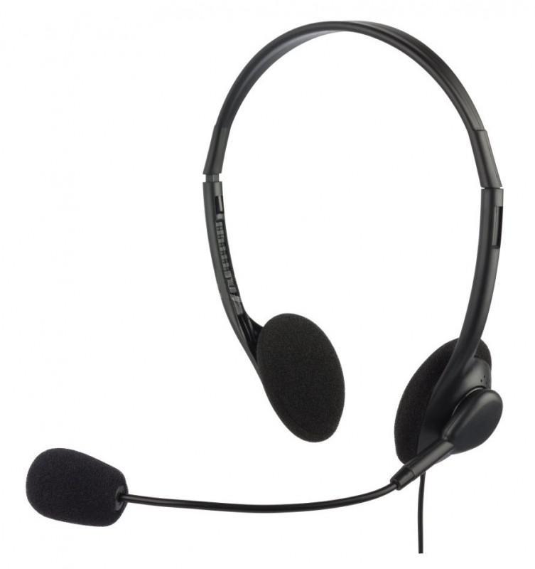 Наушники с микрофоном Oklick HS-M143VB, Black