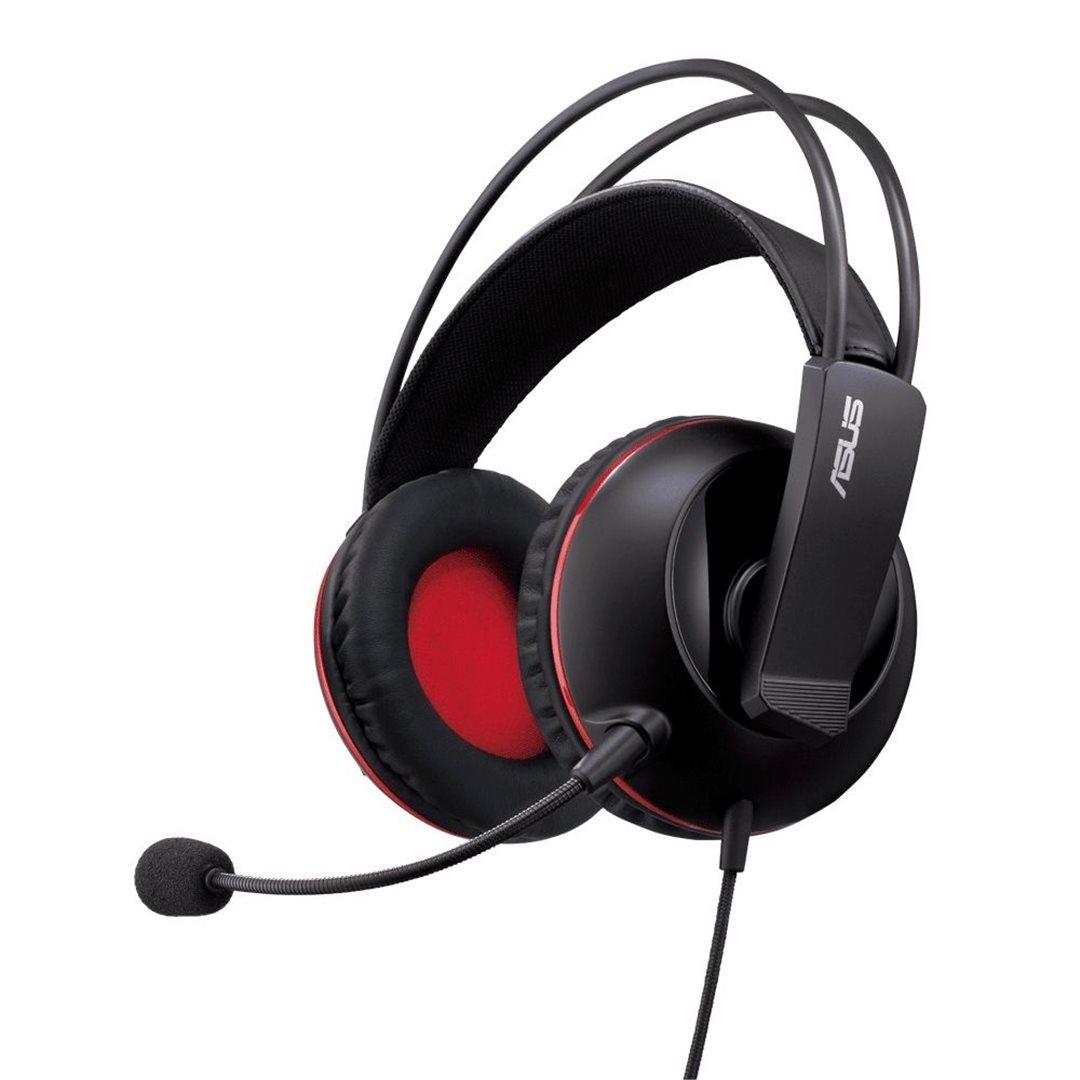 Игровая гарнитура Asus Cerberus, Black Red