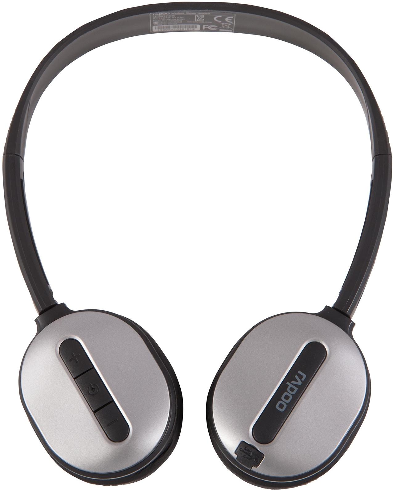 Наушники с микрофоном Rapoo H1030, Silver ( 10678 )