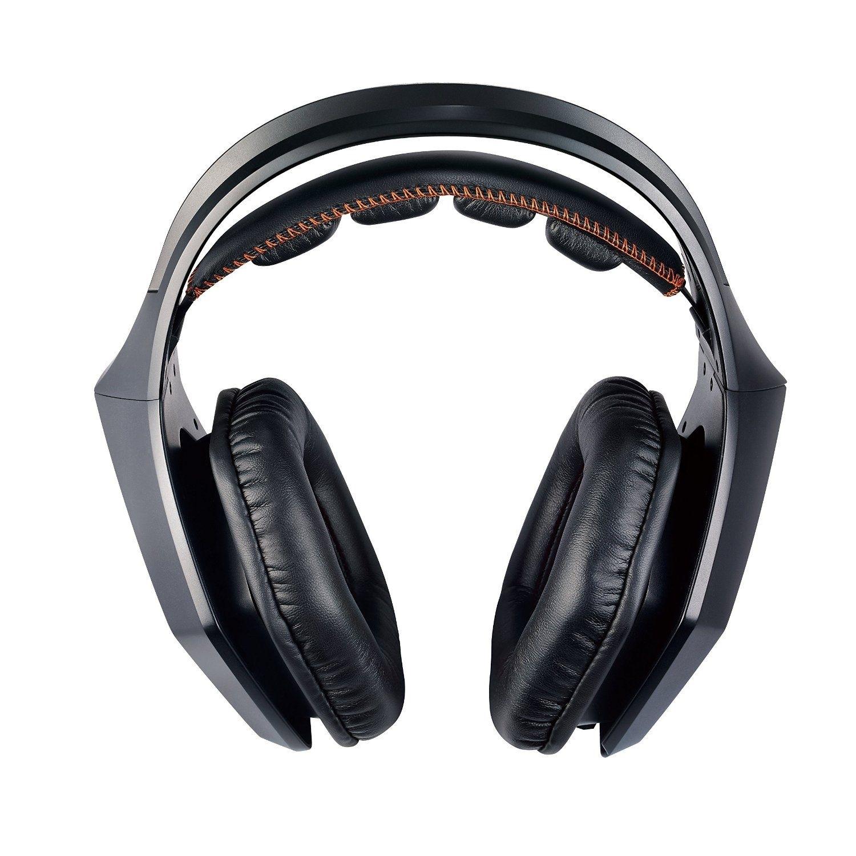 Игровая гарнитура ASUS Strix 7.1, Black90YH0091-M8UA00Strix 7.1 — это новая гарнитура для геймеров с многоканальным звучанием 7.1, оснащенная 10 динамиками с неодимовыми магнитами. Она обладает полноразмерными кожаными чашками, диаметр которых достигает 130 мм, а также настраиваемой подсветкой. В комплекте с гарнитурой идет USB-аудиостанция, которая выполняет роль внешней звуковой карты и обеспечивает более тонкую настройку звука. Гарнитура Strix 7.1 гарантирует высокое качество звука, что позволяет полностью погрузиться в атмосферу виртуального мира.