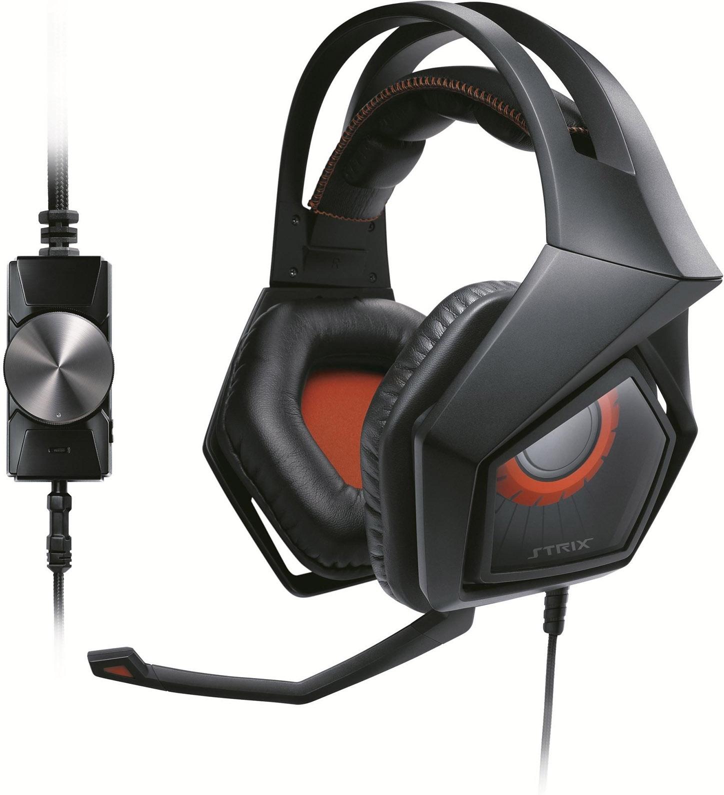 Игровая гарнитура Asus Strix Pro, Black Orange