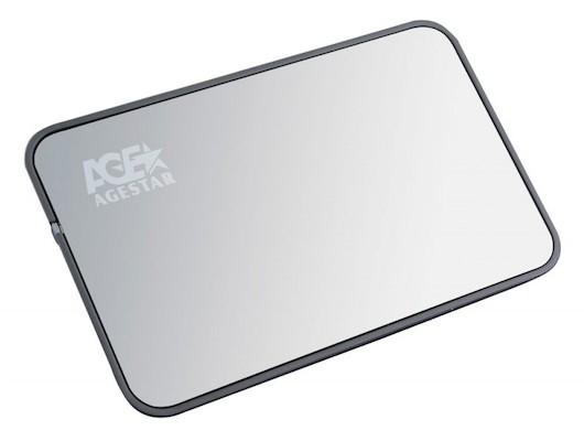 "������ ��� �������� ����� AgeStar 3UB2A8 usb3.0 to 2.5""hdd SATA, Aluminum"